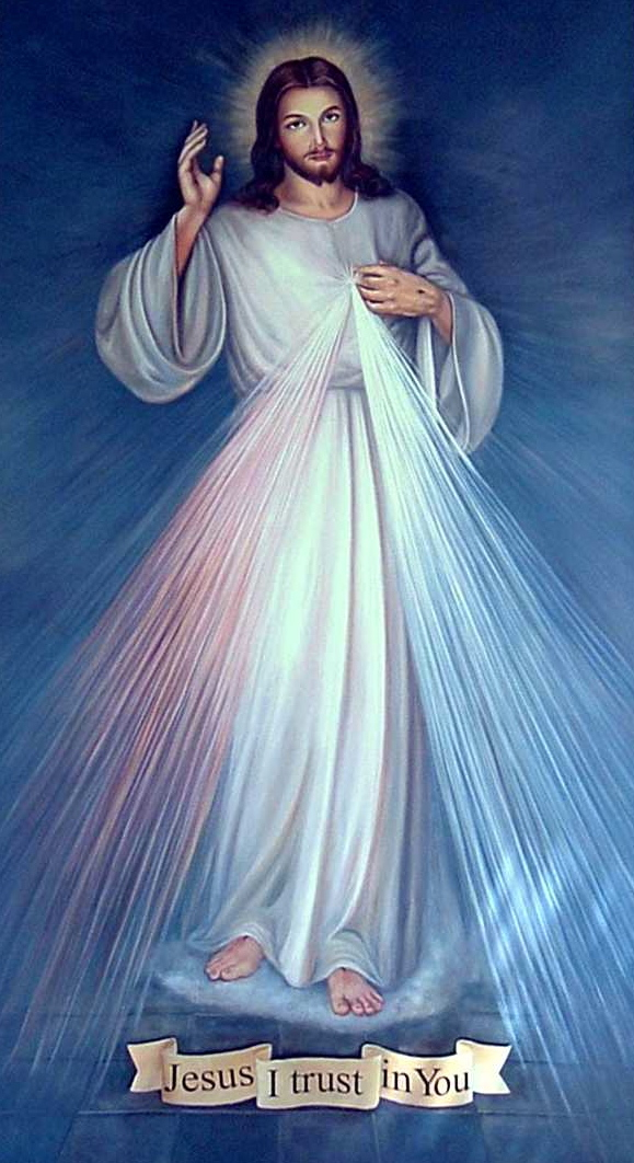 divine mercy painting